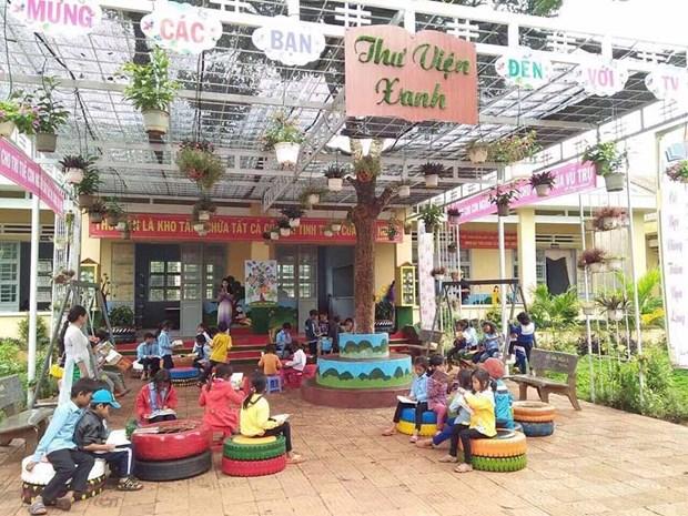 越南胡志明市致力让所有儿童都能生活在绿色清洁安全环境中 hinh anh 2