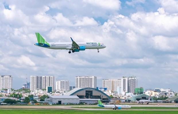 越竹在昆岛机场的贵宾休息室正式启用 hinh anh 1