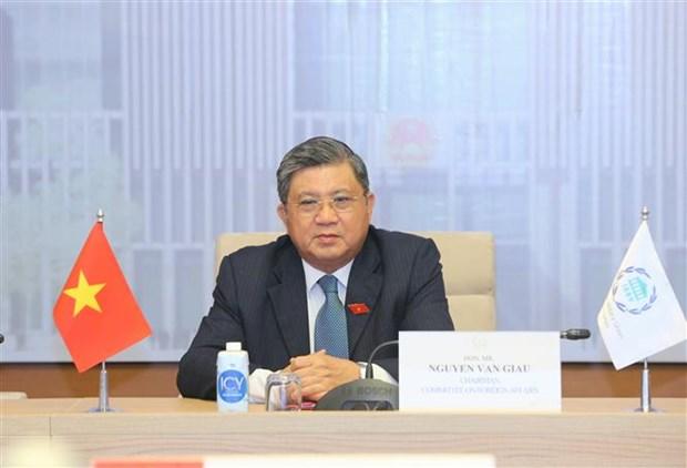 越南国会代表团出席各国议会联盟理事特别会议 hinh anh 2