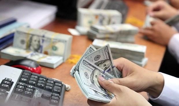 11月3日上午越盾对美元汇率中间价开始上调 hinh anh 1