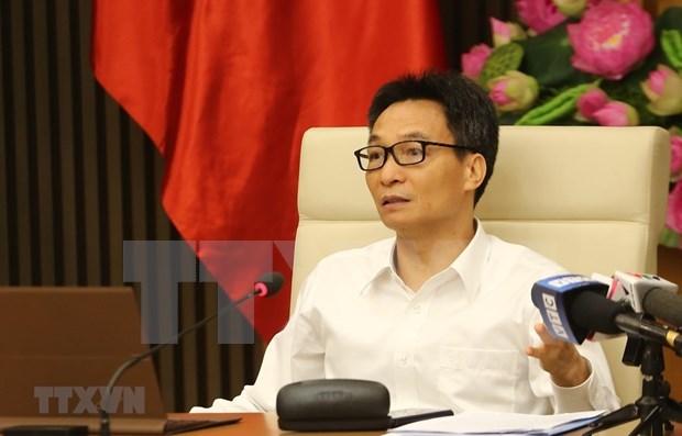 越南政府副总理武德儋:严防新冠肺炎疫情在冬天复发 hinh anh 1
