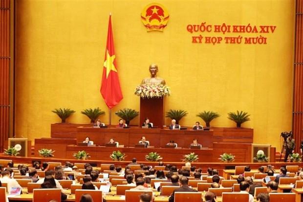 第十四届国会第十次会议今日深入研究讨论经济社会发展问题 hinh anh 1