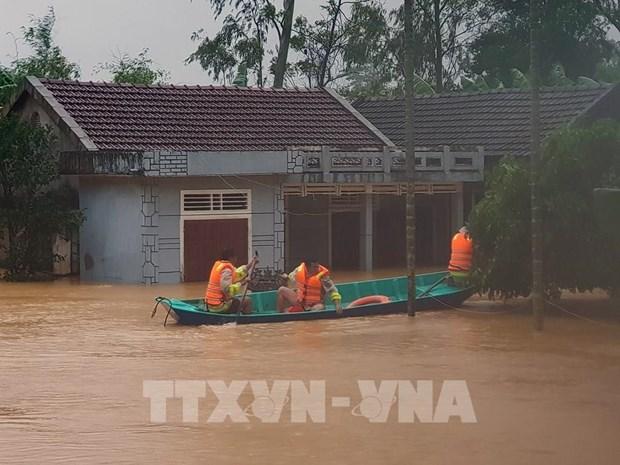 英国向越南提供50万英镑援助 用于灾后重建工作 hinh anh 1