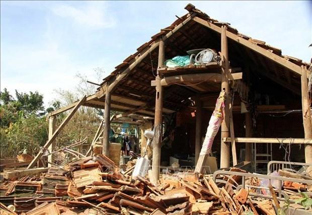 河内市向中部地区灾民提供590亿越盾 用于开展灾后重建工作 hinh anh 1