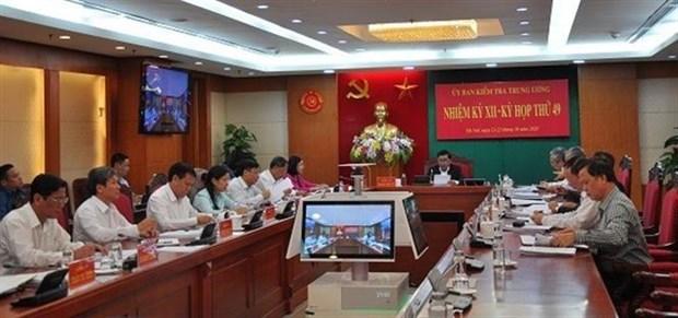越共中央检查委员会建议对一名越共中央政治局委员给予纪律处分 hinh anh 2