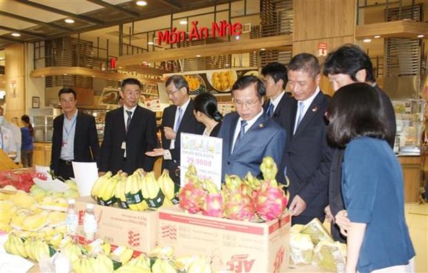 通过永旺全球分销系统促进越南产品出口和销售 hinh anh 1