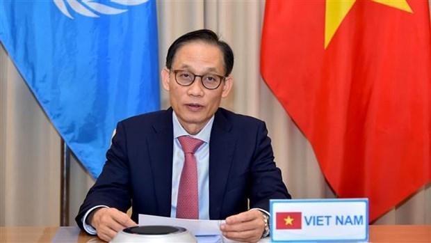越南愿为国际社会应对时代挑战作出负责任的贡献 hinh anh 2