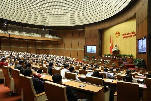 越南第十四届国会第十次会议新闻公报(第九号) hinh anh 1