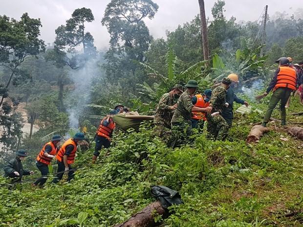 广南省南茶媚县泥石流事故:找到第9名遇难者遗体 仍有13人失踪 hinh anh 1