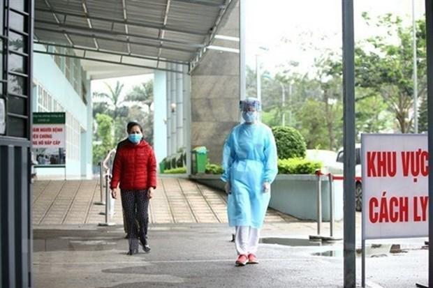 新冠肺炎疫情:广宁省综合医院急诊科全体医护人员集体隔离 hinh anh 1