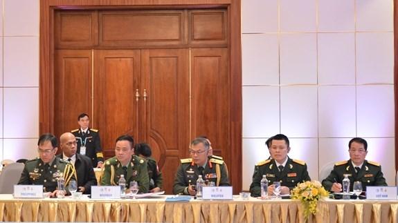 第14届东盟海军司令会议首次以视频方式举行 hinh anh 2