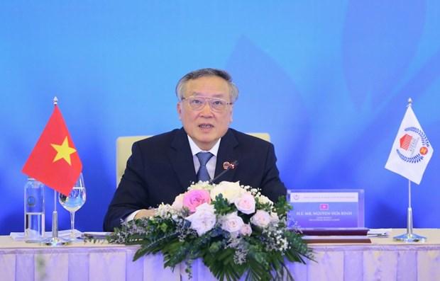 ASEAN 2020:越南最高人民法院院长阮和平当选为东盟首席法官理事会主席 hinh anh 1