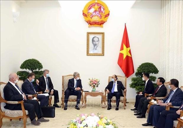 政府总理阮春福:与俄罗斯的合作是越南长期的优先之一 hinh anh 1