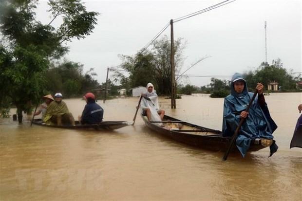 埃及和德国领导就越南中部各省洪涝灾害向越南领导人至慰问电 hinh anh 1