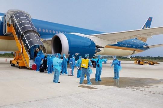 新冠肺炎疫情:将在德国及荷兰的320名越南公民接回国 hinh anh 1