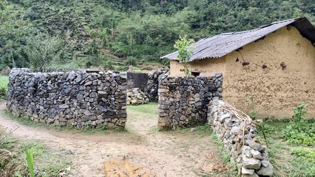 岩石围栏—河江省赫蒙族独特建筑 hinh anh 1