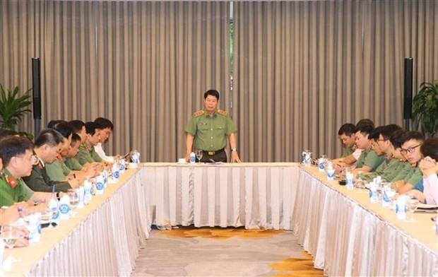 公安部领导检查第三十七届东盟峰会筹备工作 hinh anh 2