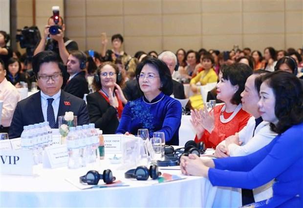 东盟女企业家携手应对新冠肺炎和气候变化 hinh anh 3