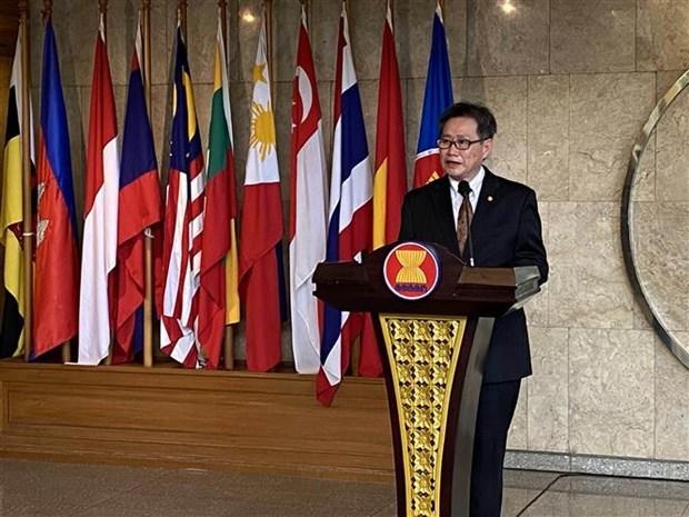 东盟秘书长林玉辉对第37届东盟峰会的结果寄予厚望 hinh anh 1