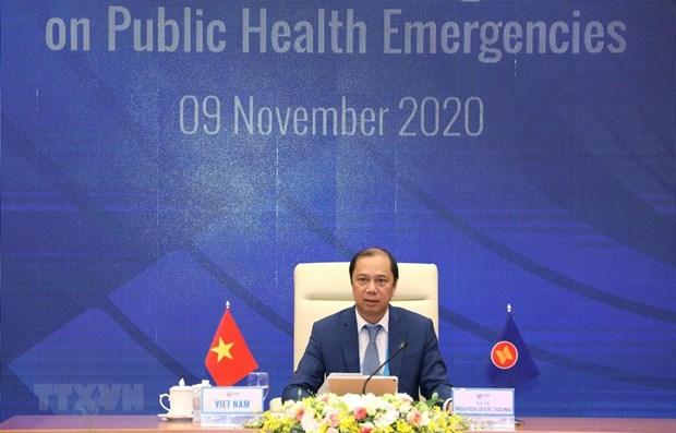 阮国勇副外长:越南在担任2020年东盟轮值主席国期间所提出的目标任务取得预期成效 hinh anh 1