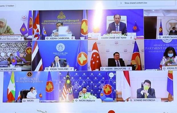 ASEAN 2020:东盟积极参与新冠肺炎疫情防控阻击战 hinh anh 1