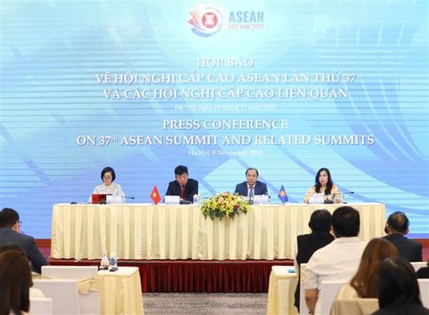 第37届东盟峰会及相关会议将通过80多项文件 hinh anh 2