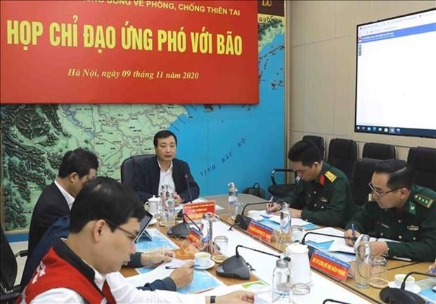 越南各部委和地方政府主动应对台风轮番来袭局势 hinh anh 1