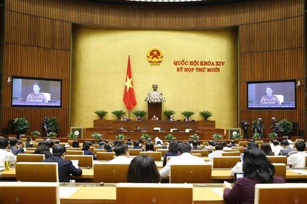 越南十四届国会第10次会议:国会继续开展质询和询问活动 对越共十三大各文件草案进行讨论 hinh anh 2