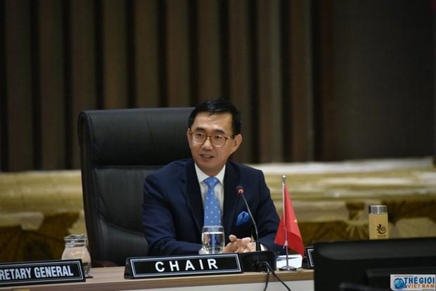 ASEAN 2020:第37届东盟峰会文件为合作与经济复苏奠定基础 hinh anh 1