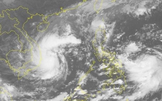 第十三号台风可能将增强 中部出现强降雨天气 hinh anh 1