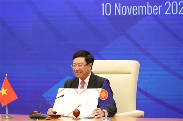 ASEAN 2020:南非签署加入《东南亚友好合作条约》文件 hinh anh 2