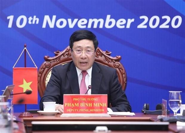 2020年东盟轮值主席国年:疫情过后促进经济恢复的措施 hinh anh 1