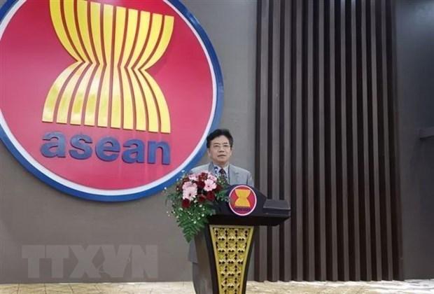中国驻东盟大使高度评价与东盟在抗击新冠肺炎疫情中的合作 hinh anh 1