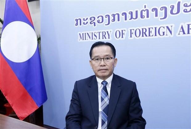 老挝外交部副部长:在东盟主席国越南的领导下 东盟已完成2020年的所有任务 hinh anh 1