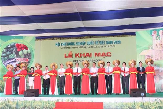 2020年越南国际农业展吸引来自国内外100多家企业参展 hinh anh 1