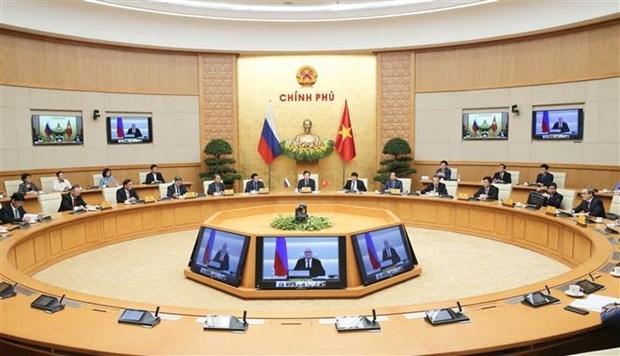 越南与俄罗斯在发展全面战略伙伴关系问题上有相同看法 hinh anh 1