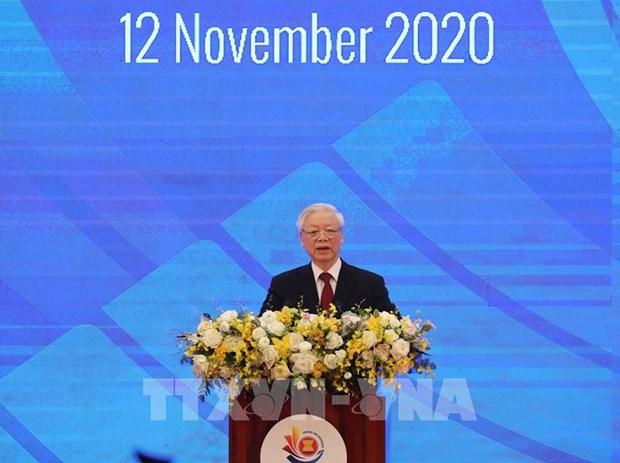 第37届东盟峰会第一个工作日的回顾 hinh anh 1