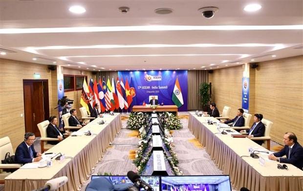 ASEAN 2020: 东盟与印度举行第17次领导人会议 hinh anh 2