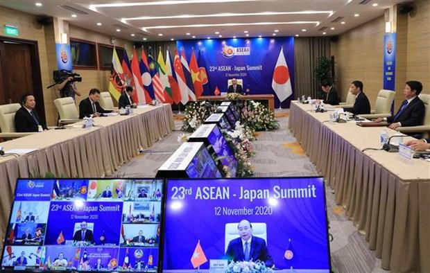 ASEAN 2020:第23次东盟——日本领导人会议召开 hinh anh 2
