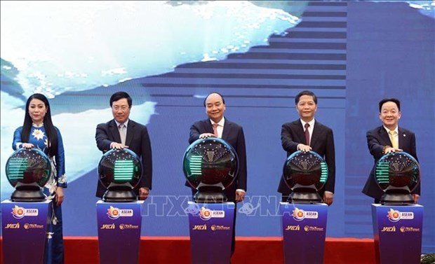 ASEAN 2020: 东盟智慧物流网络正式启动 hinh anh 1