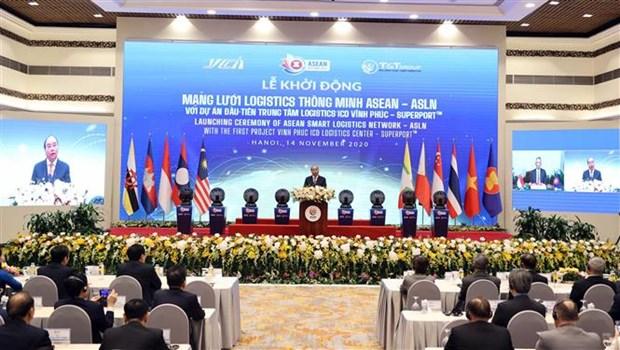 ASEAN 2020: 东盟智慧物流网络正式启动 hinh anh 2