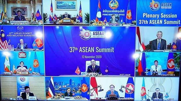 """越南外交副部长阮国勇:2020年东盟的主题成为了共同""""品牌"""" hinh anh 2"""