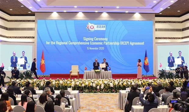 ASEAN 2020:各国领导强调RCEP的价值 hinh anh 2