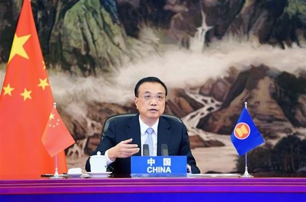 ASEAN 2020: 中国国务院总理李克强呼吁加强合作和团结一致 有效抗击疫情 hinh anh 1