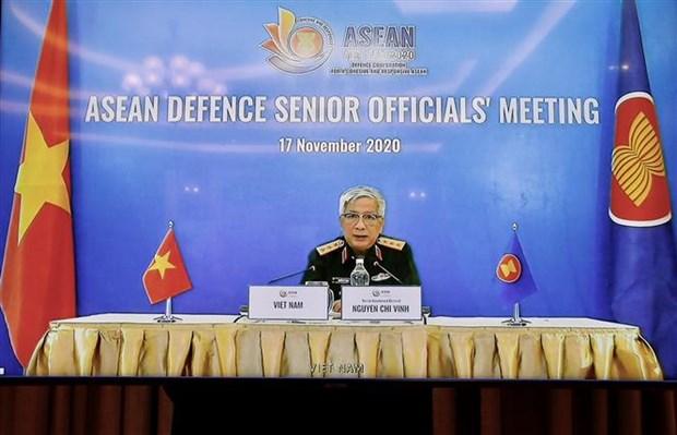 ASEAN 2020:确保东盟各国在防务合作中取得最高利益 hinh anh 1