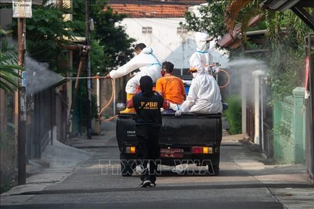 新冠肺炎疫情:东南亚国家单日新增新冠确诊病例达数千例 hinh anh 1