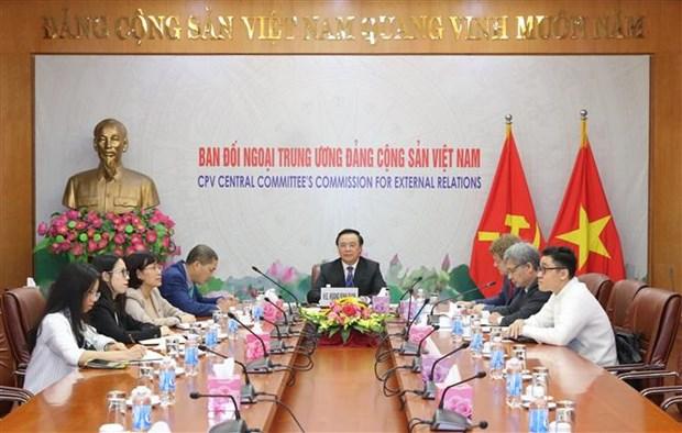 进一步深化越南共产党与德国社会民主党之间的友好关系 hinh anh 1