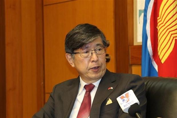 ASEAN 2020: 日本驻东盟大使千叶彰高度评价越南出色作用 hinh anh 1