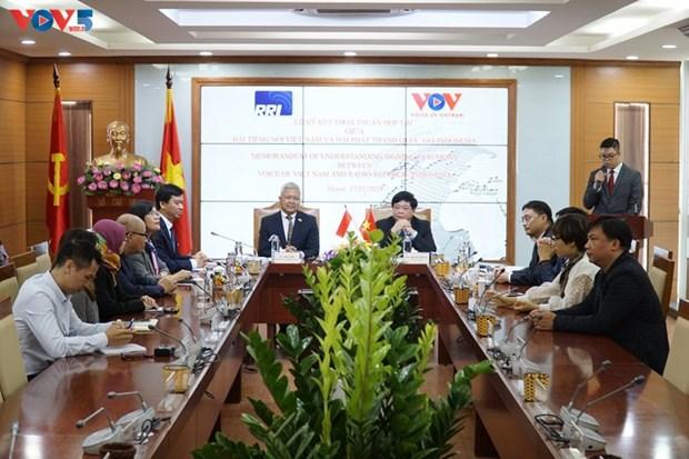 促进越南与阿根廷和印度尼西亚国家广播电台之间的合作 hinh anh 1