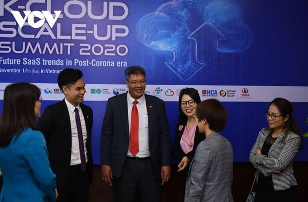 东盟与韩国促进数字化转型的合作 hinh anh 1
